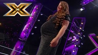 Video Pregnant woman sings Whitney Houston «I have nothing». The X Factor - TOP 100 MP3, 3GP, MP4, WEBM, AVI, FLV Januari 2018
