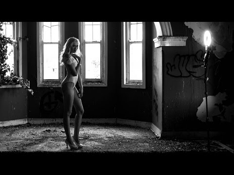 Abandoned Building Model Photoshoot - HALLOWEEN
