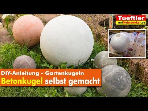 DIY Gartendeko: Betonkugeln selbst gemacht