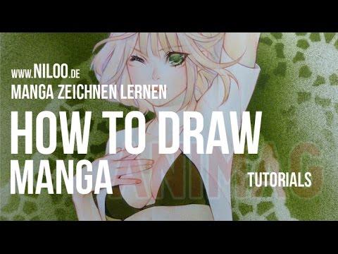 HOW TO DRAW MANGA – zeichnen lernen
