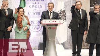 Presentan Comisión Redactora de nueva Constitución de la CDMX