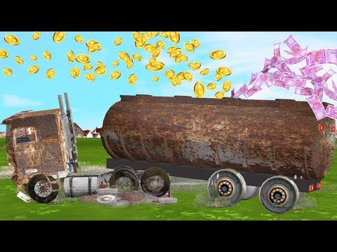 मरम्मत जादुई पानी का टैंकर Restoration Water Tanker Comedy Video हिंदी कहानिया Hindi Kahaniya Comedy