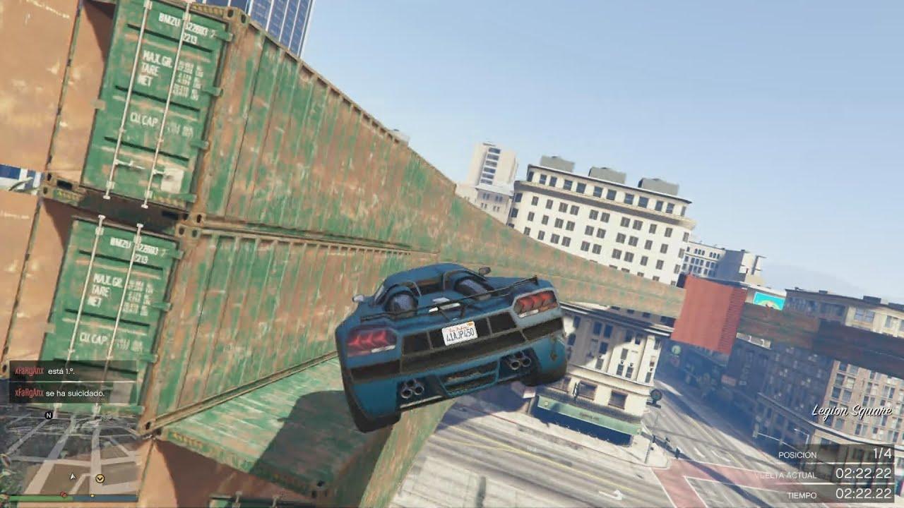 GTA 5 ONLINE – WALLRIDE INCREIBLE – CARRERA GTA 5 ONLINE