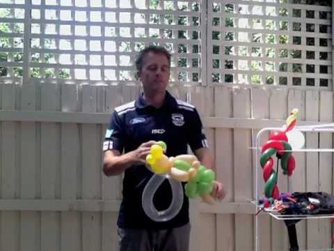 How To Make Tinkerbell out of Balloons by Twisted Mick