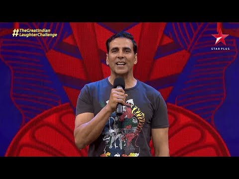 The Great Indian Laughter Challenge | Akshay Kumar