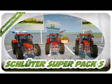 Schluter Super Pack 5 v1.0