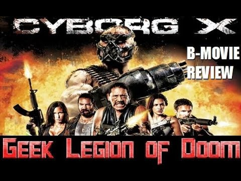CYBORG X ( 2016 Eve Mauro ) Post Apocalypse B-Movie Review