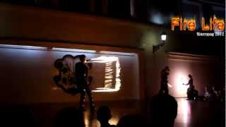 Фаєр шоу (фінал) на День УЖГОРОДА 2012