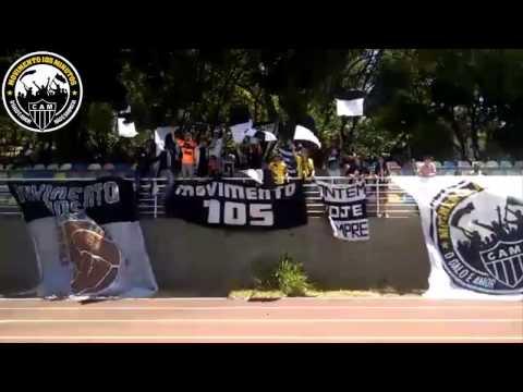 Movimento 105 - Demonstre a sua força (Galo x Pontenovense no Infantil e Juvenil) - Movimento 105 Minutos - Atlético Mineiro