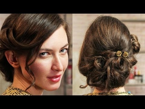 How To Get A Kiera Knightly Red Carpet Hair Style: Hair With Hollie - S01E8/8