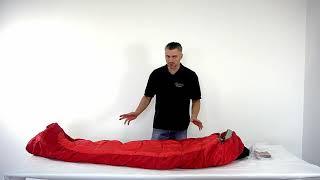 Компактная версия спальника Mountain для всех, чей рост не превышает 175 см. Alexika Mountain Compact