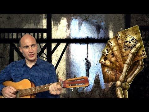 """""""Песня казнённого пирата"""".Песня под гитару (авторская)."""