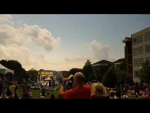 TigerNet: Totality... Clemson eclipse from the library (видео)