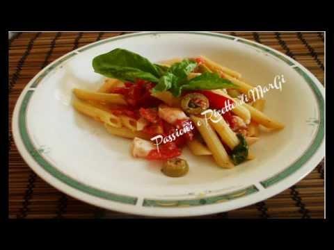 pennette alla crudaiola - ricetta