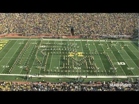 """""""Willy Wonka"""" - November 10, 2012 (Michigan Marching Band)"""