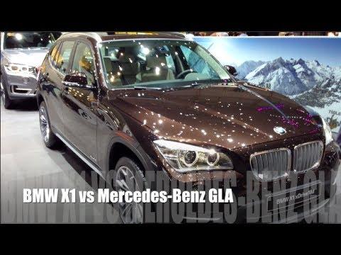 BMW X1 vs Mercedes-Benz GLA