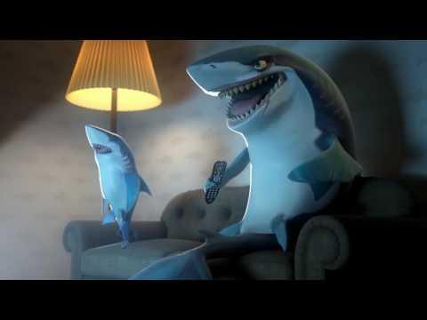Hungry Shark Shorts - Human Week