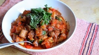 Ratatouille (Gemüseeintopf)