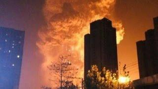 CHINA: Múltiples víctimas tras una fuerte explosión en en el municipio de Tianjín. #Ampliamos  #Vídeo. DAVID  En el municipio...