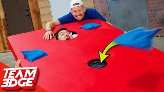 Video Extreme Corn Hole! | Below the Belt Edition!! MP3, 3GP, MP4, WEBM, AVI, FLV Juli 2019