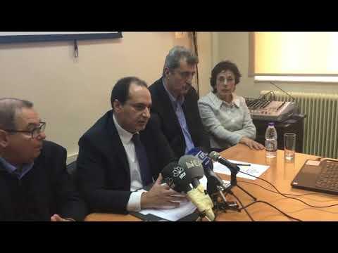 Video - Σπίρτζης: Μέχρι την Κίσσαμο η χάραξη του νέου Βόρειου Οδικού Άξονα Κρήτης