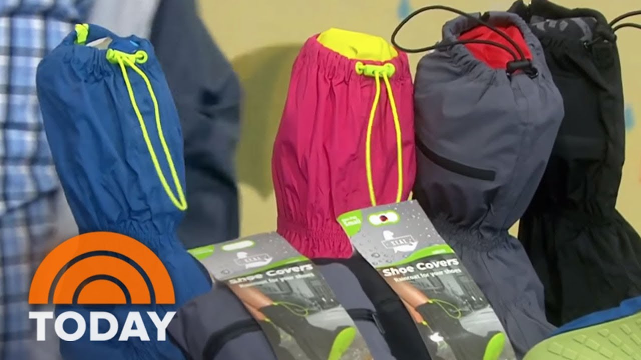 An Umbrella That Doesn't Get Wet!? Gear And Gadgets For A Rainy Day | TODAY