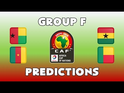 2019 AFRICA CUP OF NATIONS - GROUP F -  PREDICTIONS