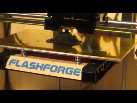 3D Printing Timelapse | Dual Extrusion Frog | Flashforge Creator