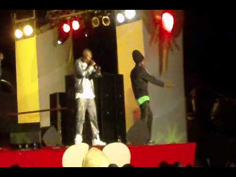 stunner & winky d performing @ sean kingston concert by mobent