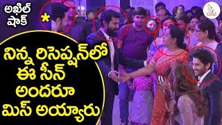 Video What a Great Gesture By Ram Charan To Senior Actress | Sam & Chaitu reception | Eagle Media Works MP3, 3GP, MP4, WEBM, AVI, FLV Desember 2018