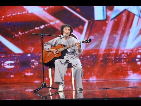 Vietnam's Got Talent 2016   Tiết mục của Cụ 60 tuổi khiến cả khán phòng phải rơi lệ