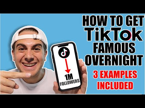 How To Get Tiktok Famous Overnight (3 REAL Examples Who Grew 0-1 Million)