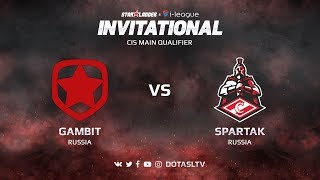 Gambit против Spartak, Третья карта, CIS квалификация SL i-League Invitational S3