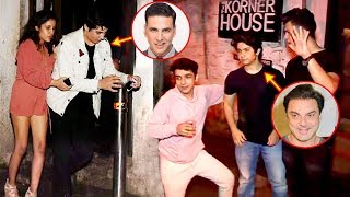 Video Akshay Kumar Son Aarav CAUGHT Drunk With Sohail Khan Son & Remo D'Souza's Son In Public MP3, 3GP, MP4, WEBM, AVI, FLV Oktober 2017