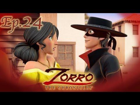 L'IMPOSTORA | Zorro La Leggenda | Episodio 24 | Cartoni di supereroi видео
