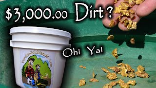 Video $3200.00 Bucket of Dirt?  Gold Nuggets!  Oh Ya! MP3, 3GP, MP4, WEBM, AVI, FLV September 2019