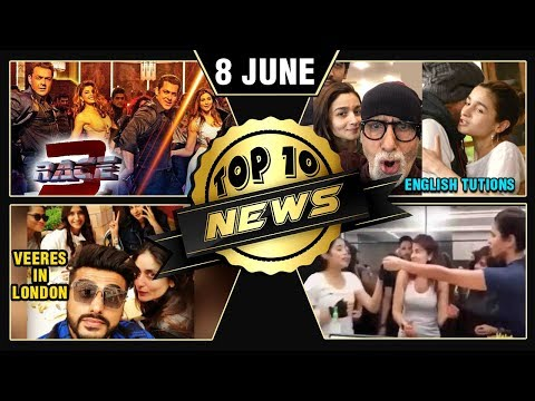 Big B Gives Alia English Tuition's, Veeres In Lond