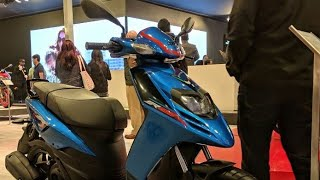 8. APRILIA SR 125 FIRST LOOK|| AUTO EXPO 2018|| THE JOY OF RIDING||