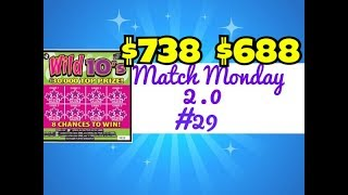 It's time for Match Monday 2.0 #29 and this week we are featuring the $2 Wild 10's Ticket from the Texas Lottery. Check out Fixin To Scratch: https://www.youtube.com/channel/UCxs8R4TcGlfX_6aLRYLhhHwJoin me on Facebook: https://www.facebook.com/TexanCandyScratching Texas Lottery Tickets. Will I find a big win? Stay tuned. Fan Mail:CandyPO Box 241763San Antonio, TX 78224
