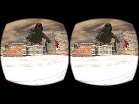 Godzilla Attacks VR