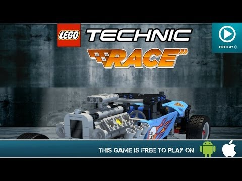LEGO Technic Race – Free On iOS & Android – HD Gameplay