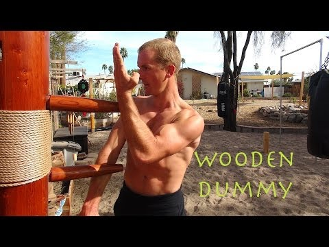 "Wing Chun WOODEN DUMMY Training – the New ""IP MAN"" – Mook Yan Jong – Mu Ren Zhuang"