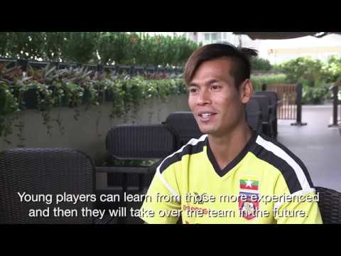 Zaw Min Tun reveals who the funniest guy in the Myanmar team is