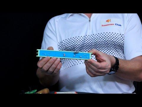 изготовление гирлянд для ловли рипуса видео