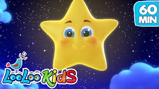 """Subscribe to our channel because new videos are uploaded every week! http://bit.ly/Subscribe_to_LooLooKidsYou are watching """"Twinkle, Twinkle, Little Star"""", a super fun compilation with the best animated nursery rhymes created by LooLoo Kids and Hello Mr. Freckles!Follow us on Facebook for new updates! https://www.facebook.com/LooLooKids/Tweet to us! https://twitter.com/loolookidsWe are always happy to hear from you! Please share your feedback on our nursery rhymes in the comments or through our social media!Go to your favorite song by selecting a title below!0:00  Twinkle, Twinkle, Little Star (Hello Mr. Freckles!) 2:29 Bingo (Hello Mr. Freckles!) 4:53 Old MacDonald Had a Farm (Hello Mr. Freckles!) 6:11 Five Little Ducks (Hello Mr. Freckles!) 8:33 Head, Shoulders, Knees and Toes (Hello Mr. Freckles!) 10:34 Pat-a-Cake 11:31 If You're Happy and You Know It 13:11 Rain, Rain, Go Away 15:25 Five Little Monkeys 17:39 Sleeping Bunnies 19:29 The ABC Song 20:48 Old MacDonald Had a Farm 22:07 Baa, Baa, Black Sheep 23:17 Hickory Dickory Dock 25:41 The Wheels On The Bus (Hello Mr. Freckles!) 27:49 Humpty Dumpty 29:03 Ten in a Bed 31:30 BINGO 33:27 Five Little Ducks  35:01 Itsy Bitsy Spider (Hello Mr. Freckles!) 36:41 Head, Shoulders, Knees and Toes 38:16 I'm a Little Teapot 39:30 Johny Johny Yes Papa 41:00 Mary Had a Little Lamb 43:10 Row Your Boat (Hello Mr. Freckles!) 45:11 Miss Polly Had a Dolly 46:32 Once I Caught a Fish Alive 48:31 One, Two, Buckle My Shoe 49:29 If You're Happy and You Know It (Hello Mr. Freckles!) 51:30 The Finger Family 52:32 The Wheels On The Bus 54:37 Three Little Kittens 56:56 Twinkle, Twinkle, Little StarTwinkle, Twinkle, Little Star LyricsTwinkle, twinkle, little starHow I wonder what you areUp above the world so highLike a diamond in the skyTwinkle, twinkle little starHow I wonder what you areWhen the blazing sun is goneWhen he nothing shines uponThen you show your little lightTwinkle, twinkle, all the nightTwinkle, twinkle, little starHow I wonder"""