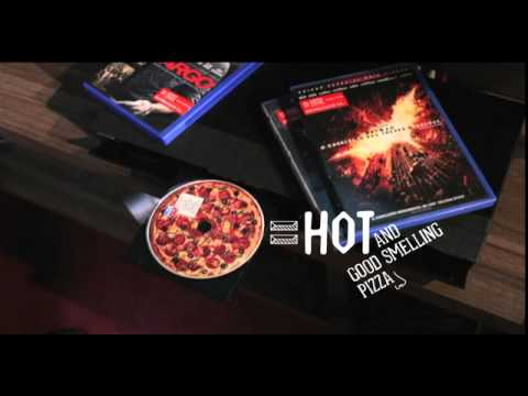 0 Dominos Pizza publica un DVD con olor... a pizza