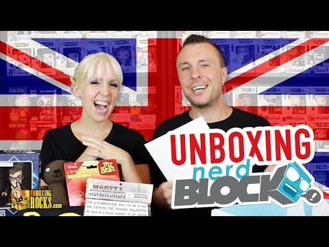 Nerd Block Classic – June 2015 – British Invasion (Unboxing Review)