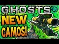 "Call of Duty Ghost ""HIDDEN CAMOS""! - Weed, Bling, Glass & MORE!"