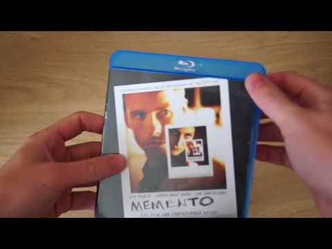 Memento Blu-Ray Review Unboxing