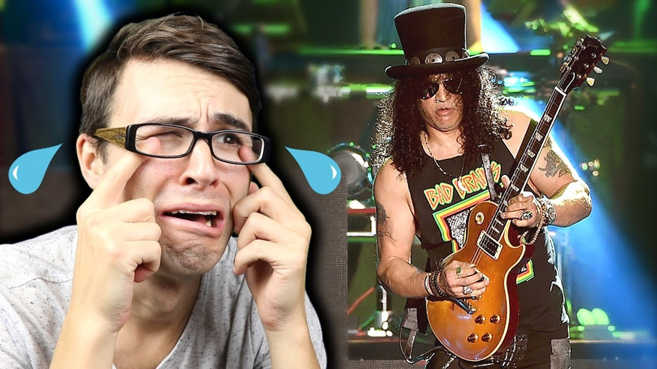 SLASH Guitar Fail?